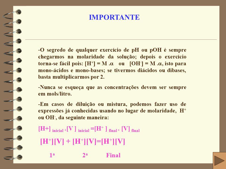 [H+][V] + [H+][V]=[H+][V] 1a 2a Final